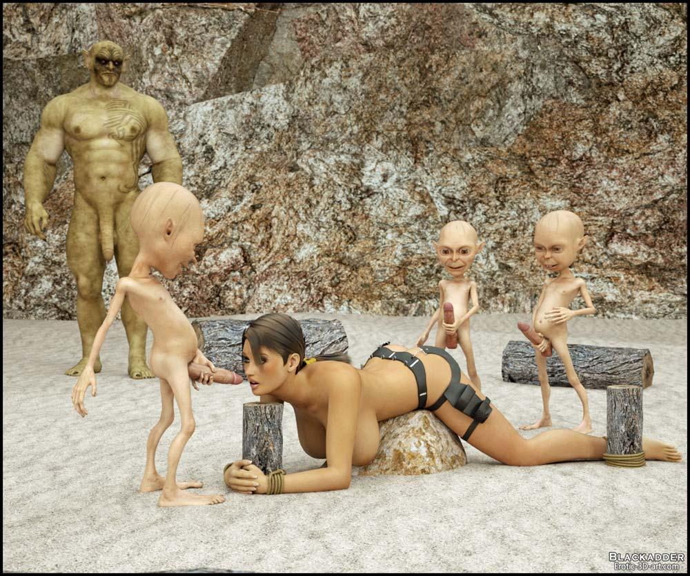 Lara croft and goblin 3d xxx nudes images