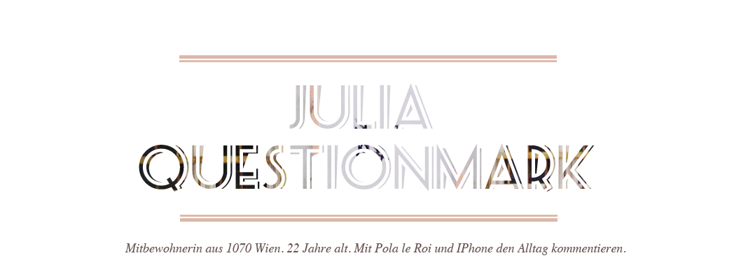 Julia Questionmark