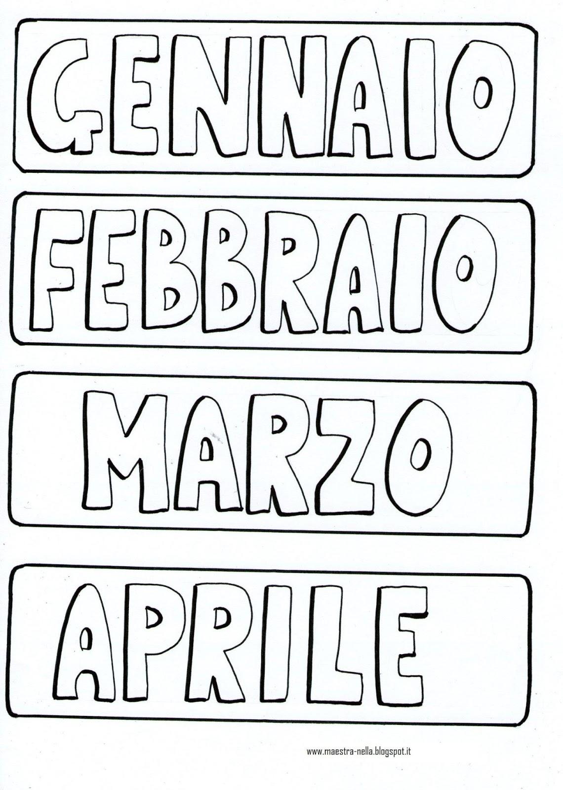 abbastanza maestra Nella: Il calendario PD33