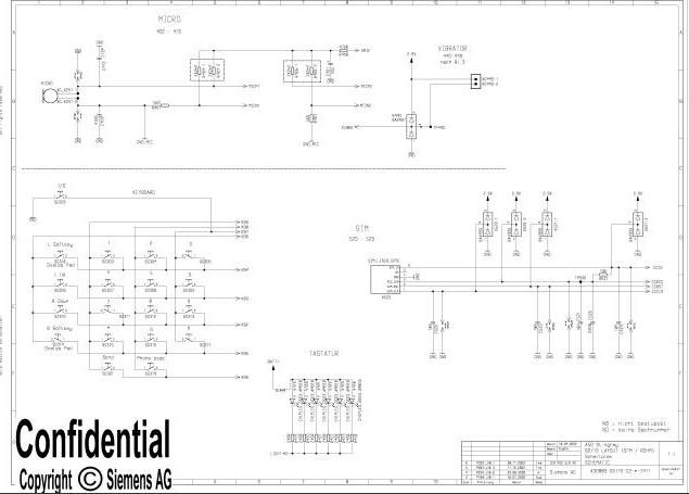 Download Siemens A50 Schema