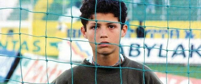 Cristiano during his period in Clube Desportivo Nacional