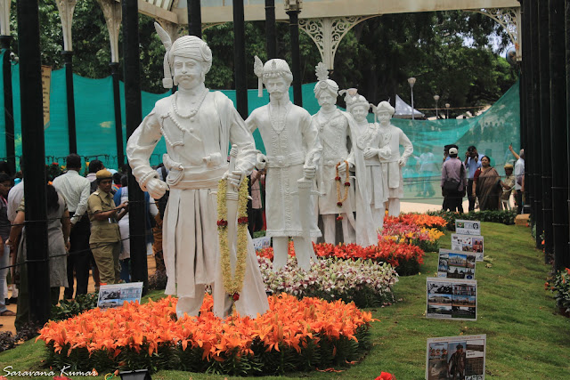 Statues of Mysore Rulers