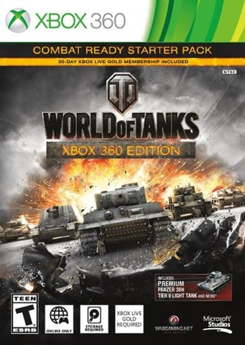 World Of Tanks XBOX 360 Región Free Español