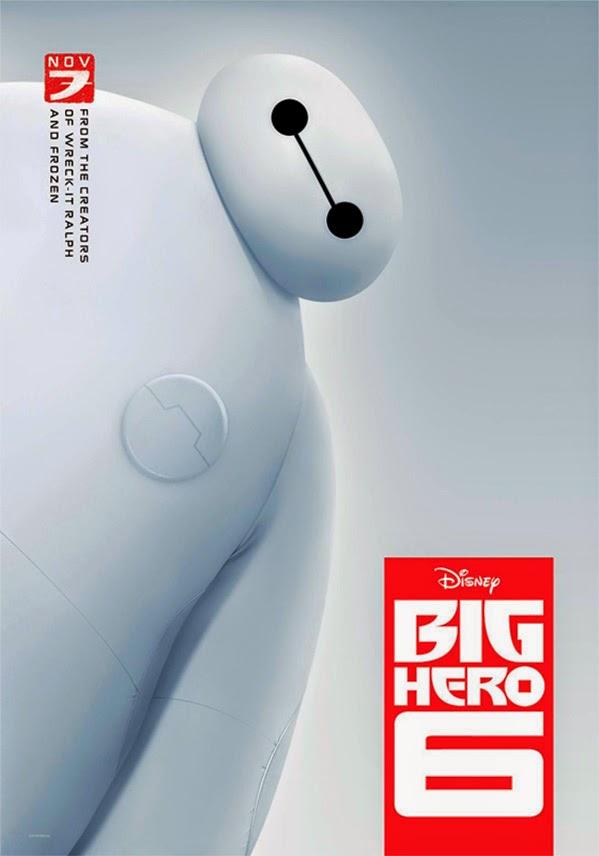 "2º poster Hiro Hamada y Baymax de ""Big Hero 6"""