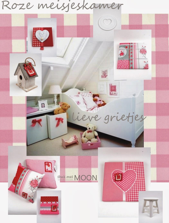 Thuis met moon - Roze meid slaapkamer ...