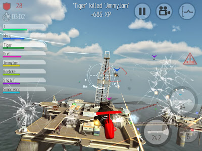 Descargar C.H.A.O.S Multiplayer Air War v6.1.8 APK [FULL] [GRATIS] (Gratis)