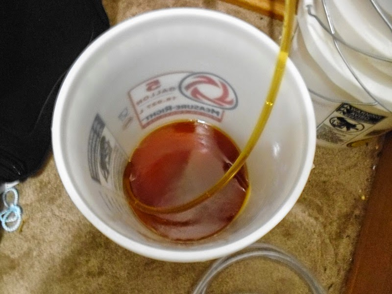 Siphoning Amber ale