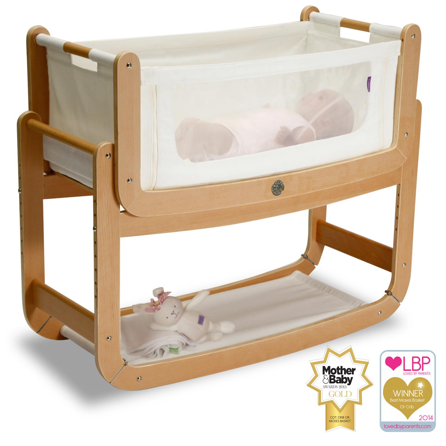 Baby bed by parents bed - Review Snuzpod 2 Three In One Baby Bed