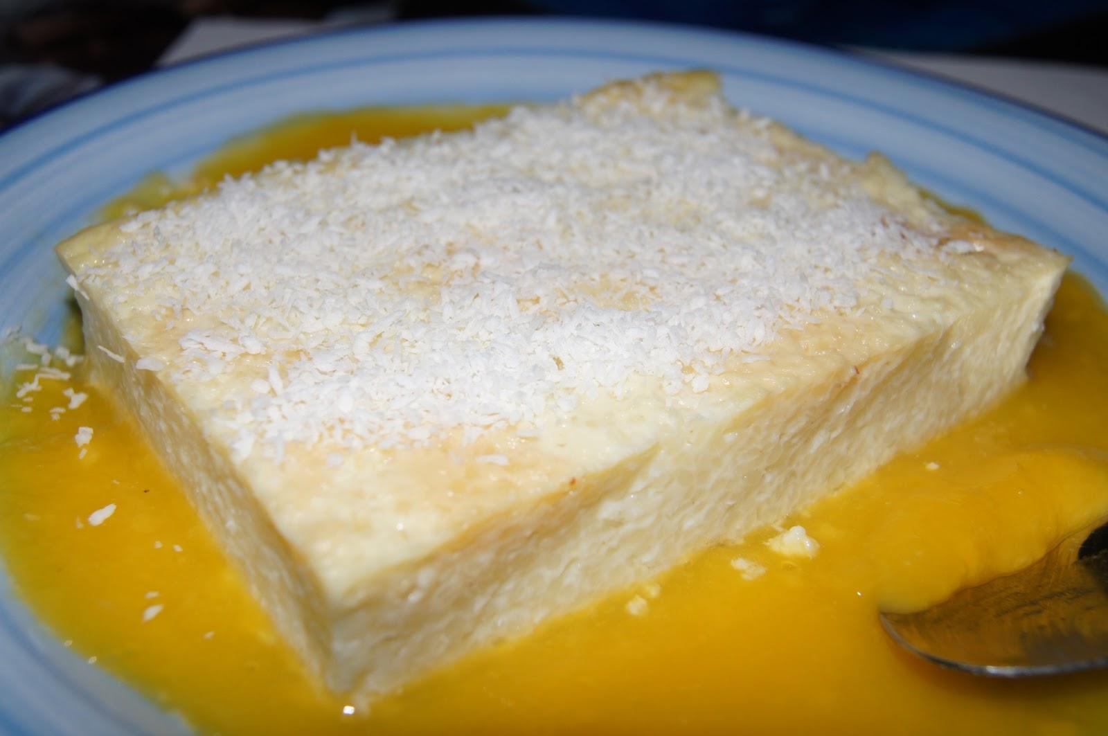 les p tites recettes de mastinette g 226 teau de semoule au lait de coco coulis de mangue