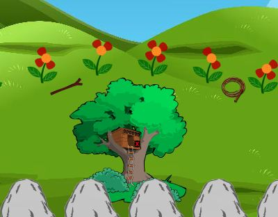 Play CoolGames8 Hill 5 Escape