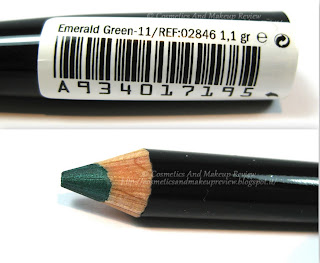 Labo Make-Up - Extra Color Pencils - 11 Emerald Green