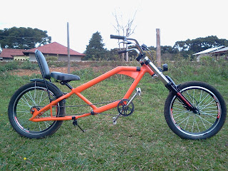 Bike chopper Estilo Juliano Ribeiro