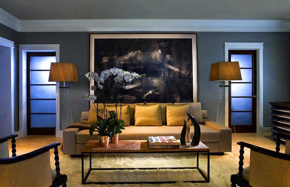 Decorative lamp modern minimalist living room is gorgeous