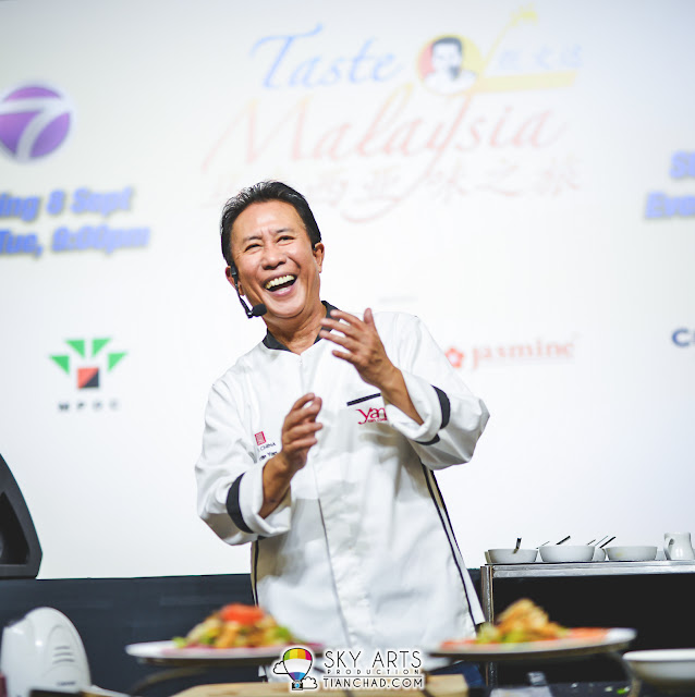 My favourite shot of  Martin Yan in Malaysia