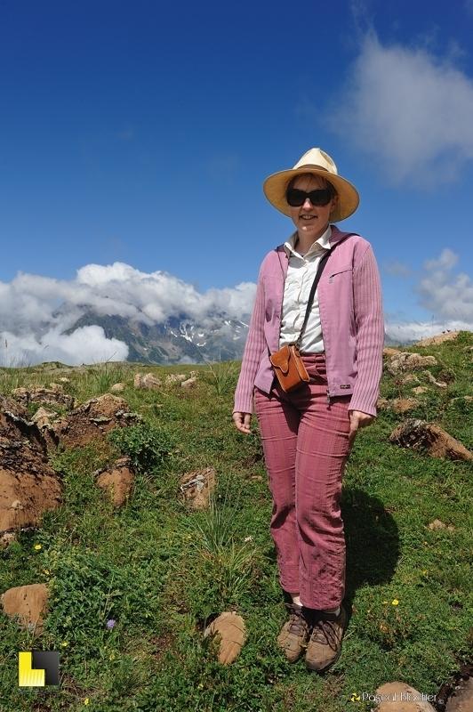 valérie blachier alpe d'huez été 2013 photo pascal blachier