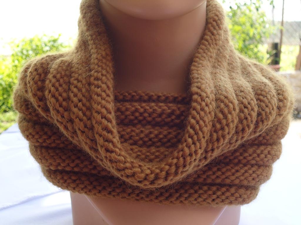 Knitting Rib Stitch On Circular Needles : Stitch of love knit ribbed cowl