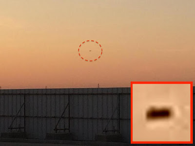 UFO Caught On Camera Over Dubai During Sunset, UFO Sightings