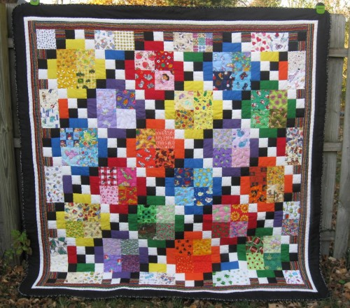 I Spy Quilt Tutorial