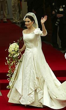 Mary Donaldson vestido de boda