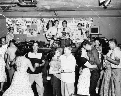 Buck Owens At The Blackboard Cafe, Bakersfield, California