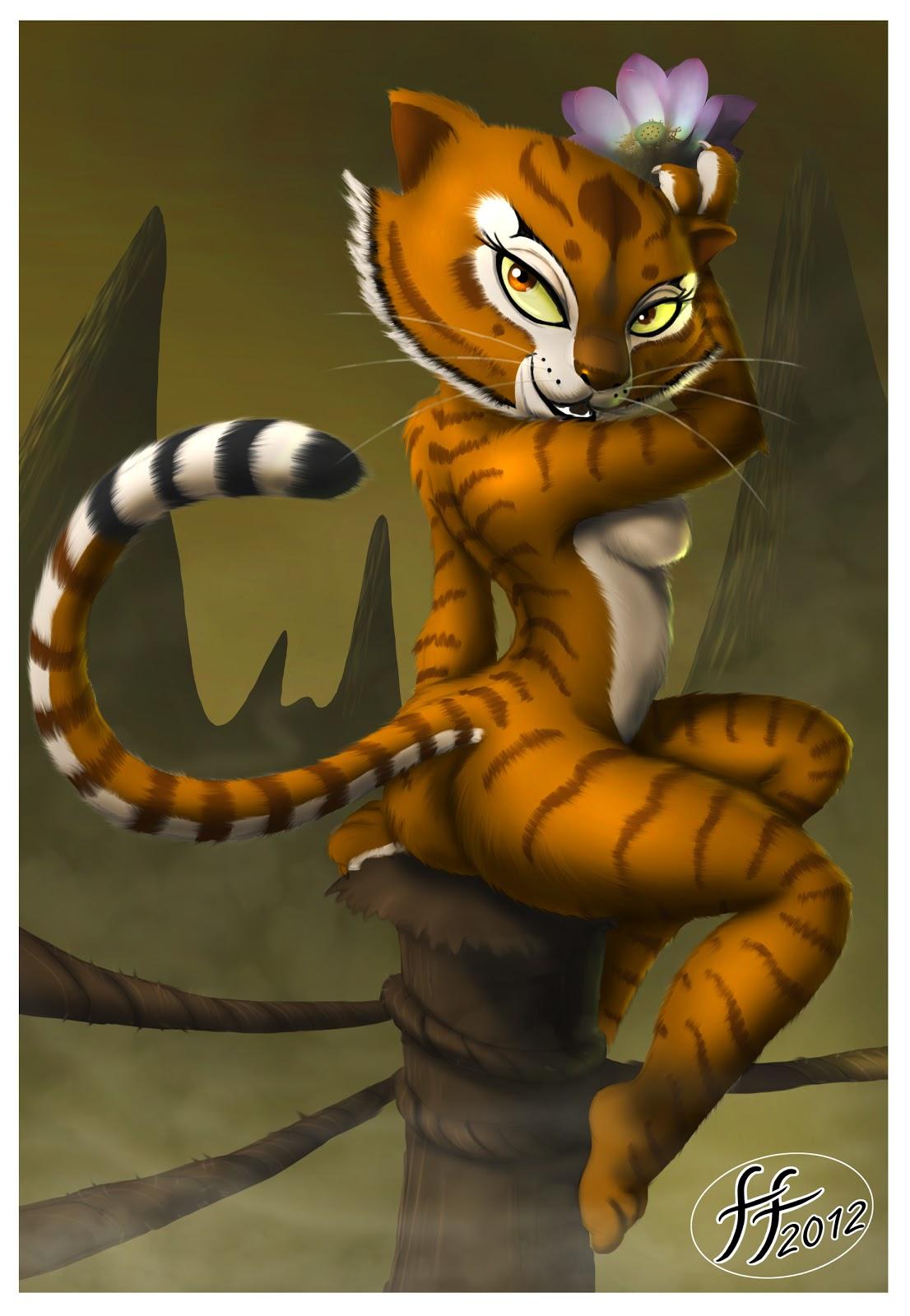 Тигрица порно кунг фу 6 фотография