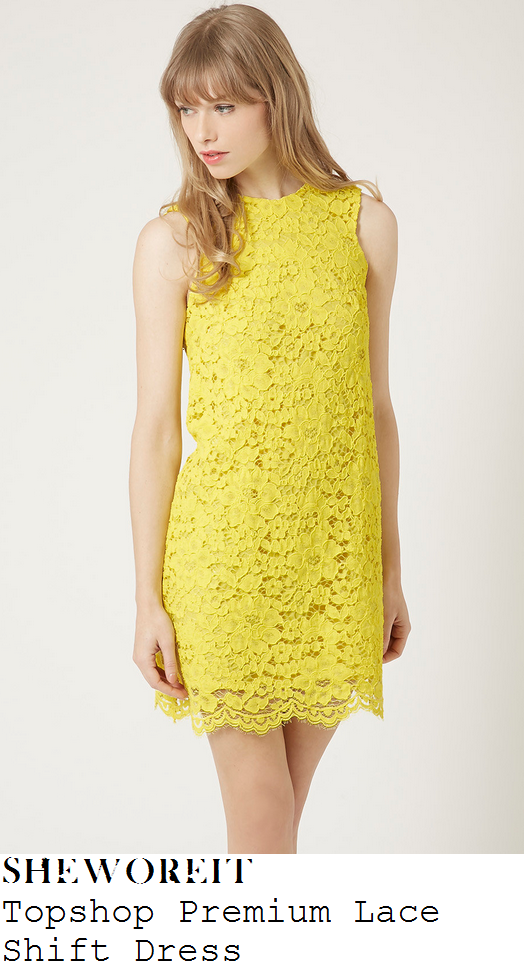 frankie-bridge-bright-yellow-sleeveless-floral-lace-shift-dress-marie-curie