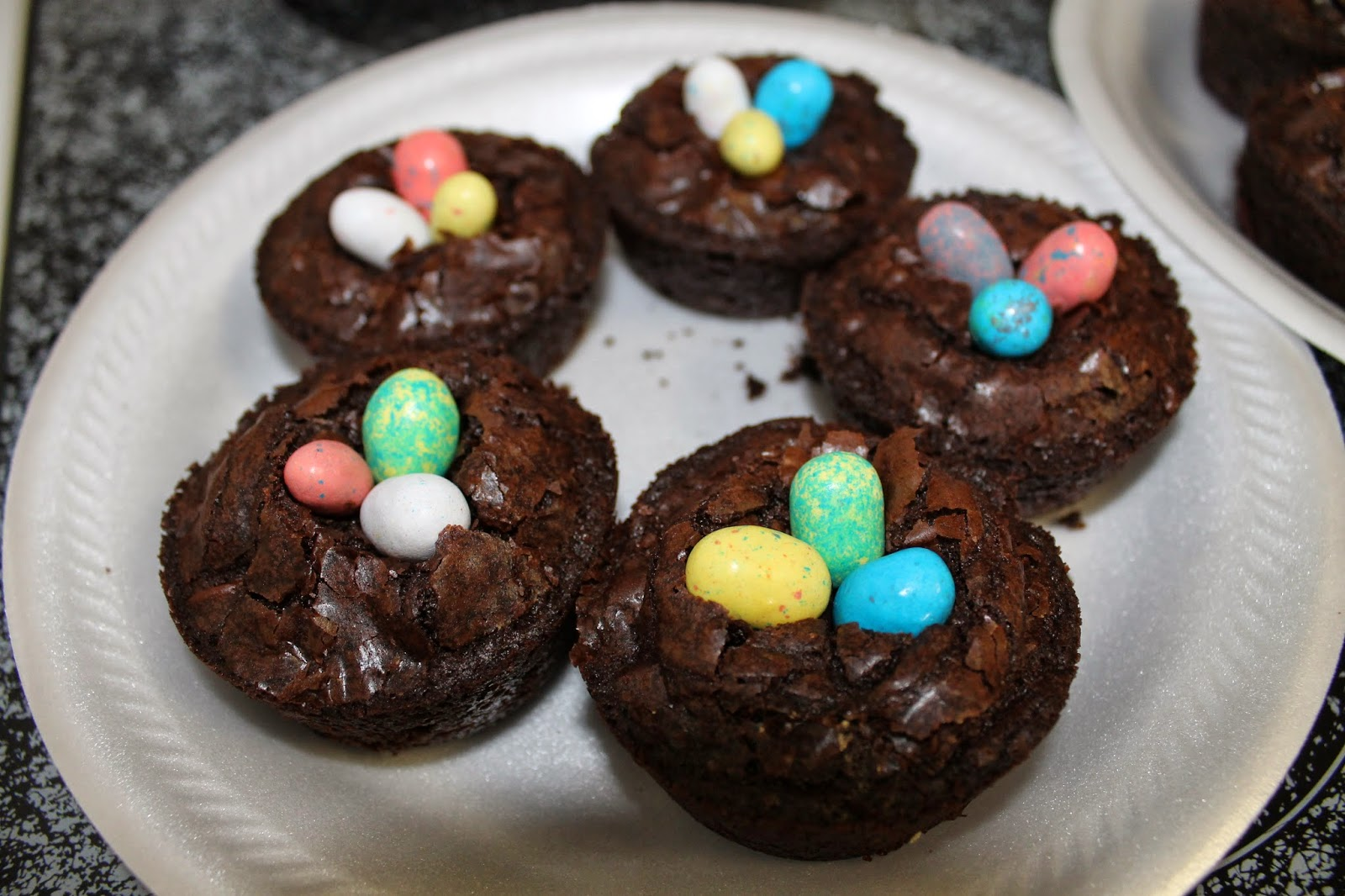 Let It Be Glory Brownie Bird Nests Super Duper Easy
