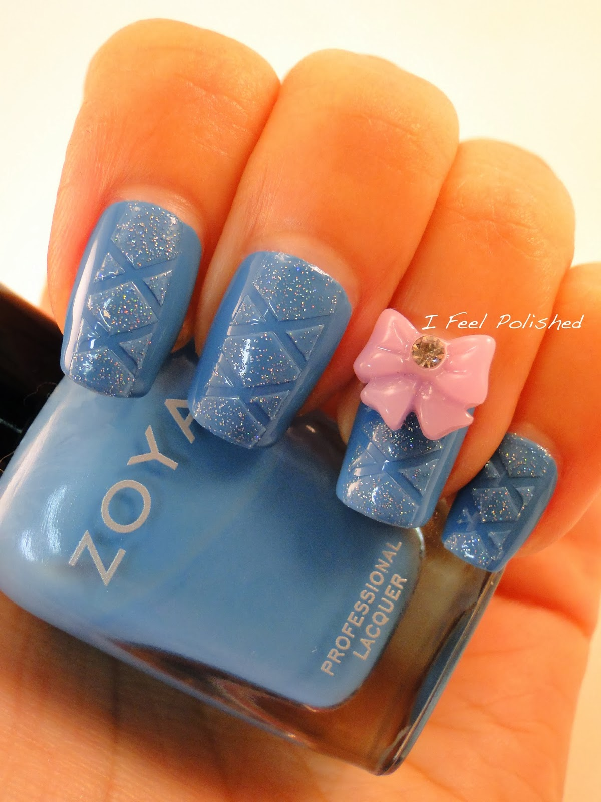 I Feel Polished!: Facebook\'s Top Nail Art Manicures of 2013