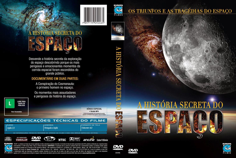 Capa DVD A História Secreta Do Espaço