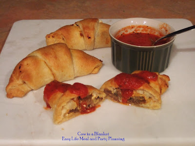 Cow in a Blanket by Easy Life Meal and Party Planning