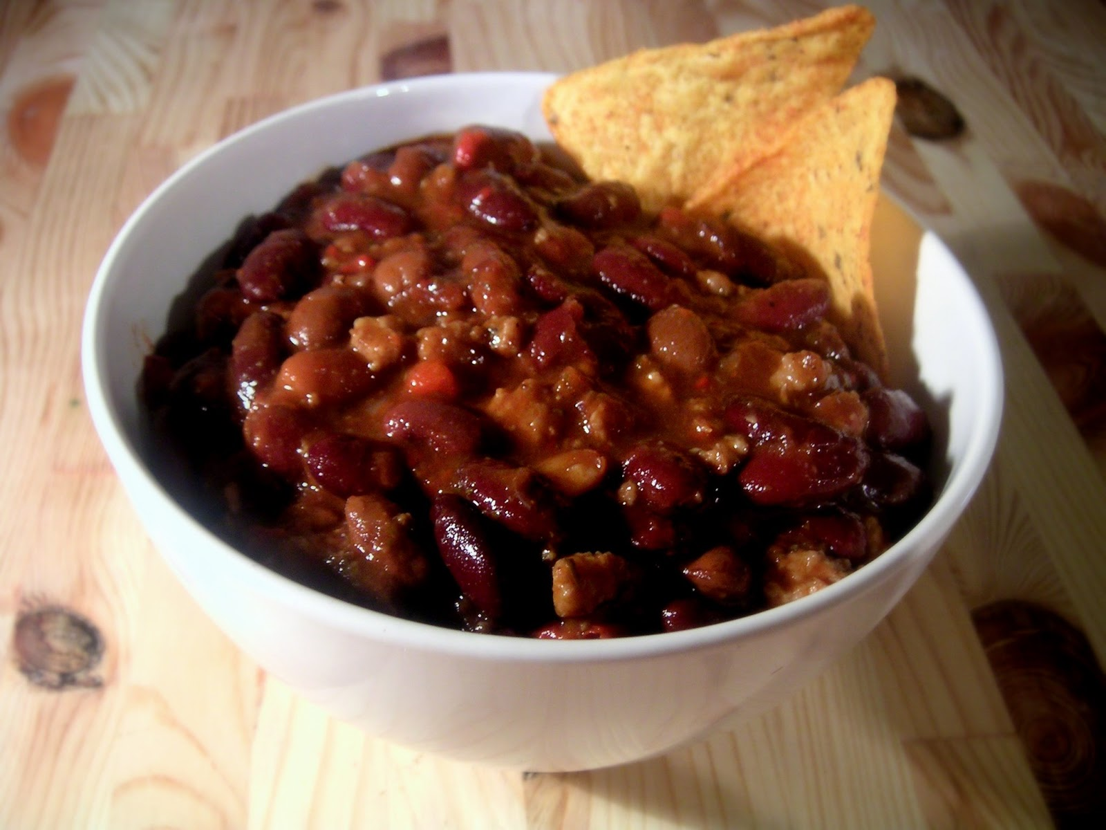 Chili con carne. Foto de Wikipedia .