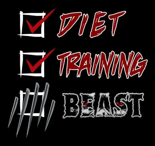 how to become a beast in the gym
