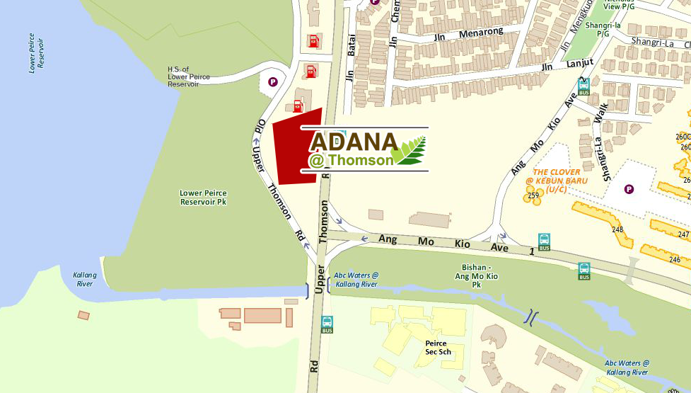 adana thomson location map