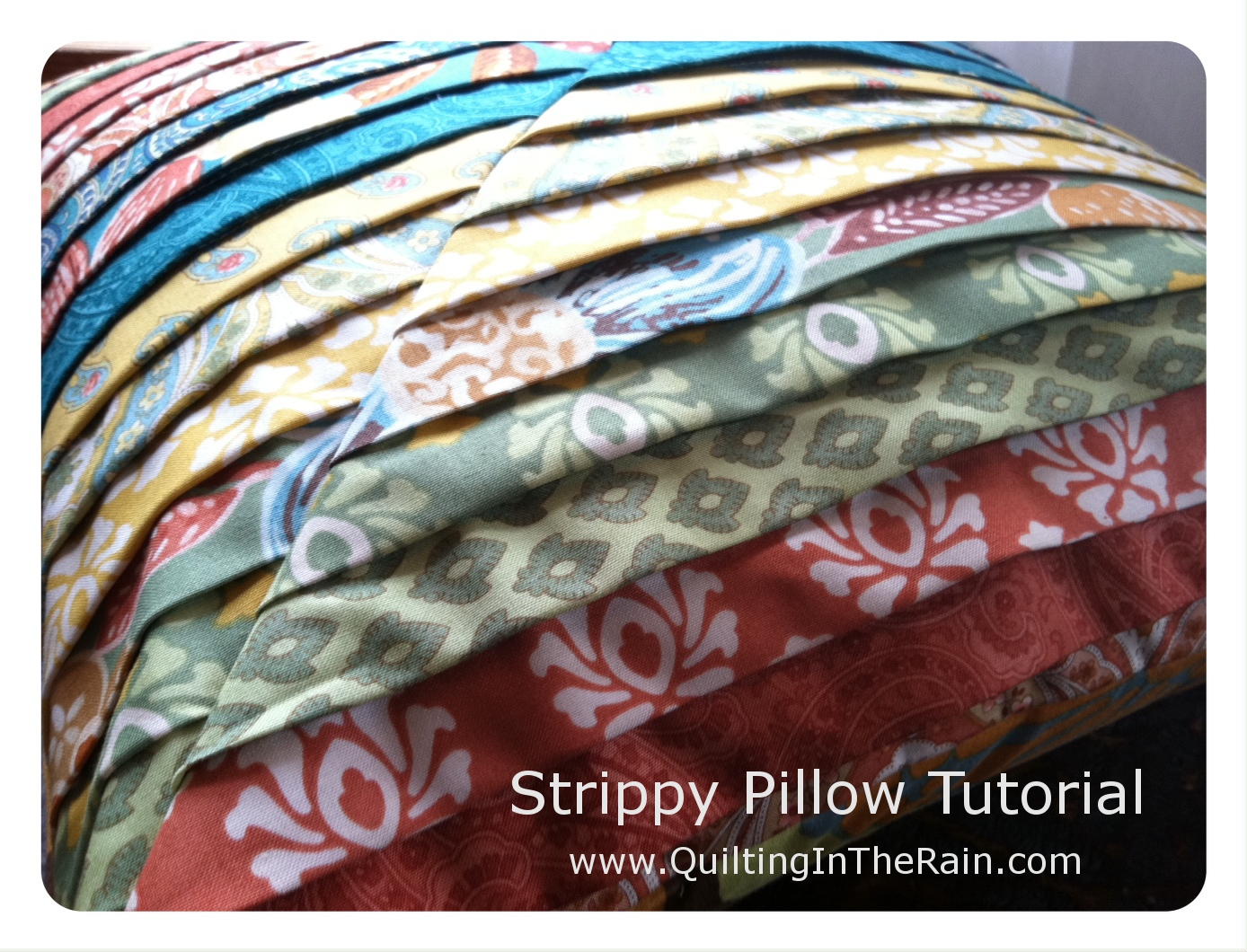 How To Make Roll Pillow Cover