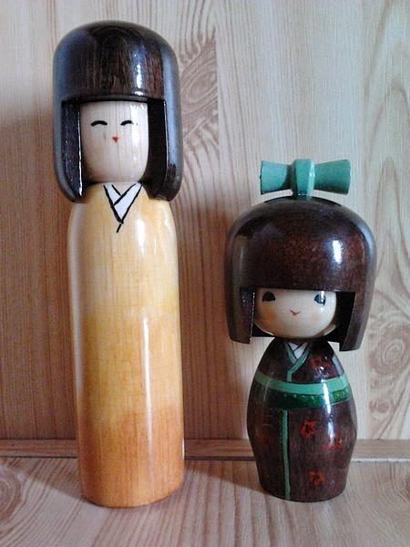 Coisas Kawaii, Crazy and Kawaii Desu, doll, Folclore Japonês, Kawaii Desu, Kokeshi,