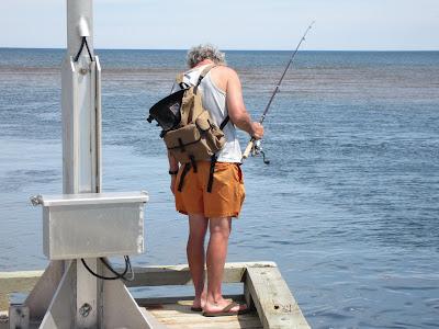 Fishing North Rustico Harbour