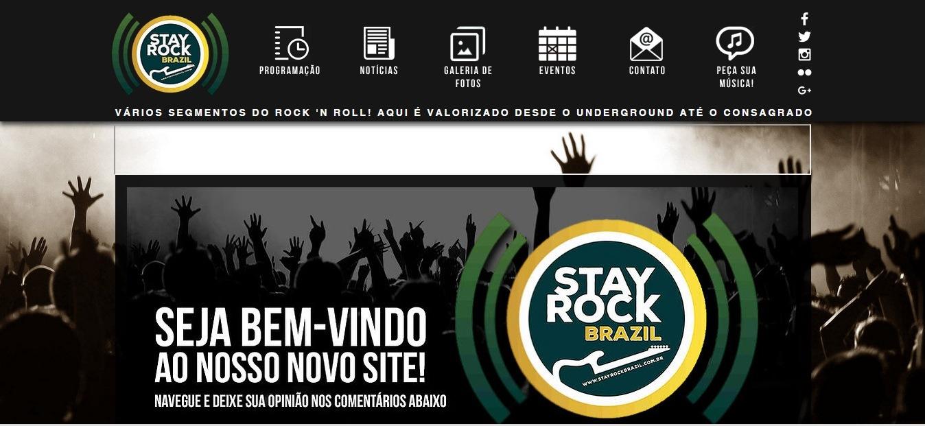 Radio Web Stay Rock Brazil
