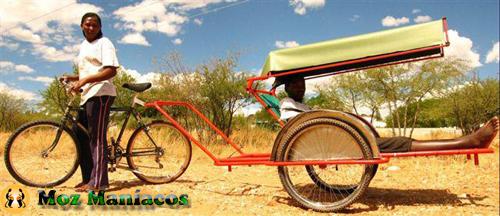 Bicicleta Transporte Taxi