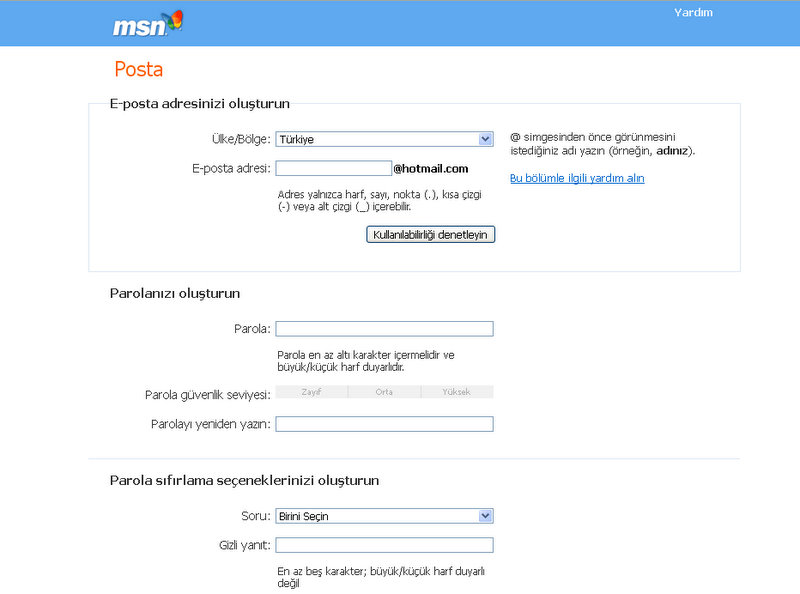 Msn Kaydol