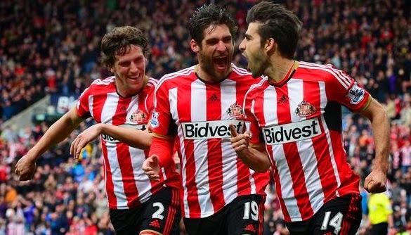 Sunderland Celebrating goals