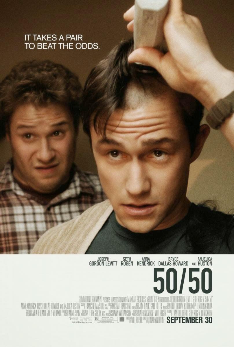 50/50: Película sobre el cáncer