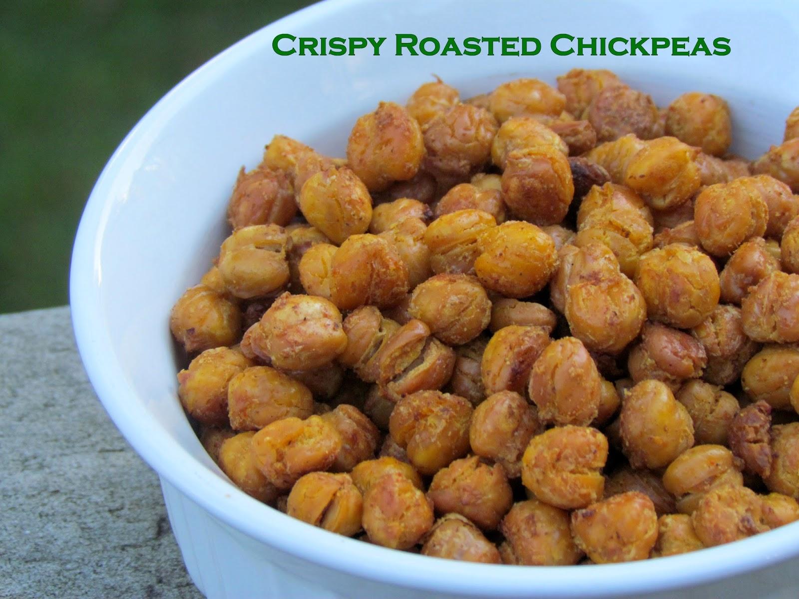 Getting Stuffed: Crispy Roasted Curry Chickpeas