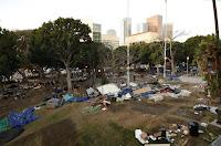 Occupy LA Debris