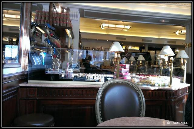 salon de thé Carette place Trocadéro paris 16 macarons