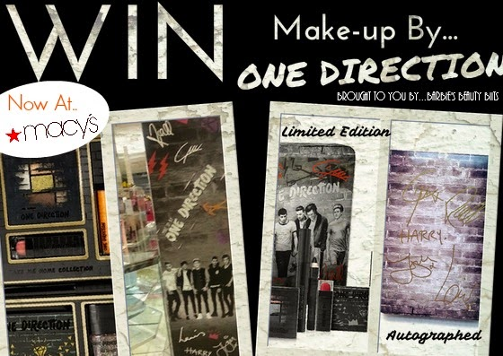 Makeup By One Direction Is Now Available At Macy's & You Can Win It, By Barbie's Beauty Bits.