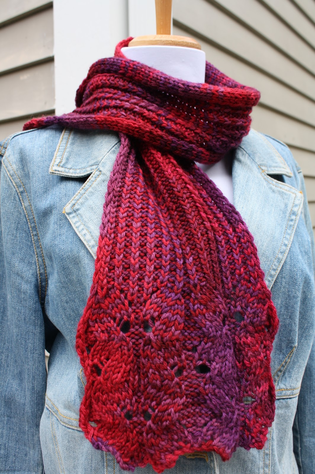 Knitting Pattern Scarf 6mm Needles : All Knitted Lace: Free Guide to Knitting Needles