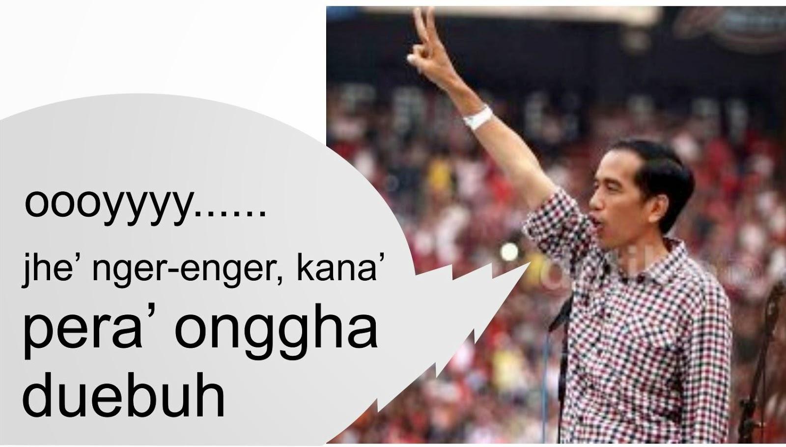 Gambar Meme Lucu Bahasa Madura Keren Dan Terbaru DP BBM Lucu