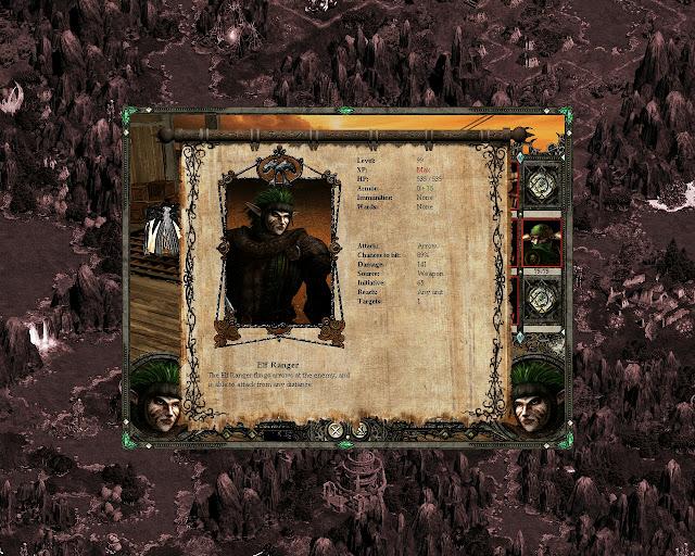 Disciples 2 - Elf Ranger Screenshot