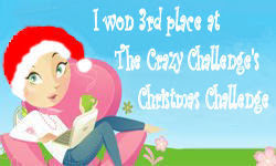 The Crazy Challenge's Christmas Challenge Badge