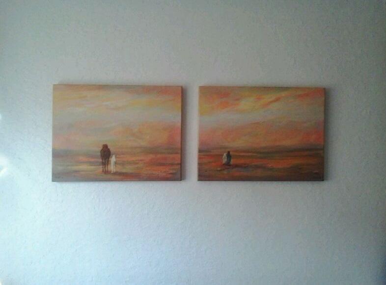 La magia de rudi pintura art stica composici n 2 cuadros - Composicion cuadros ...